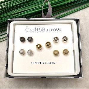 Croft&Barrow gift box earrings, stocking stuffer